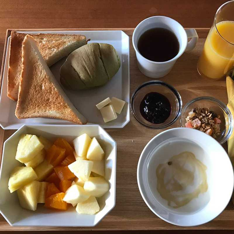 Included Breakfast at Bijuu Residence