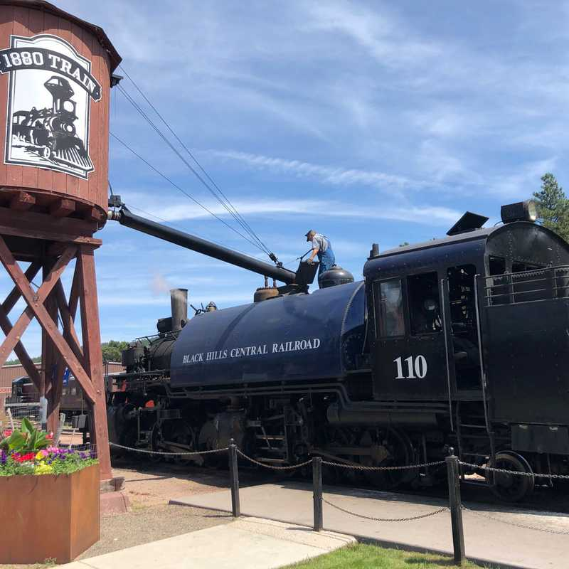 1880 Train - Hill City Depot