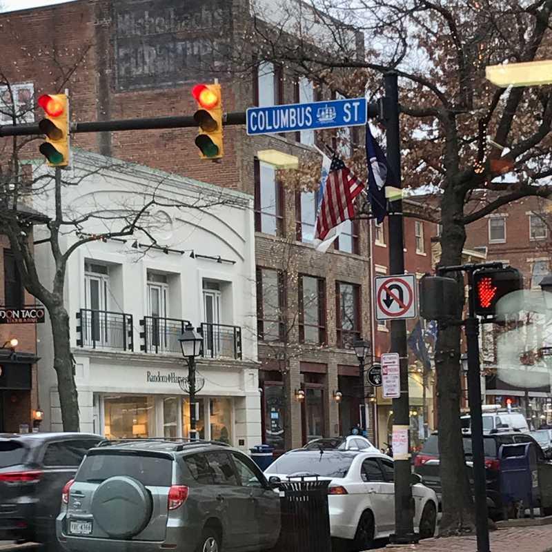 King St+N Columbus St