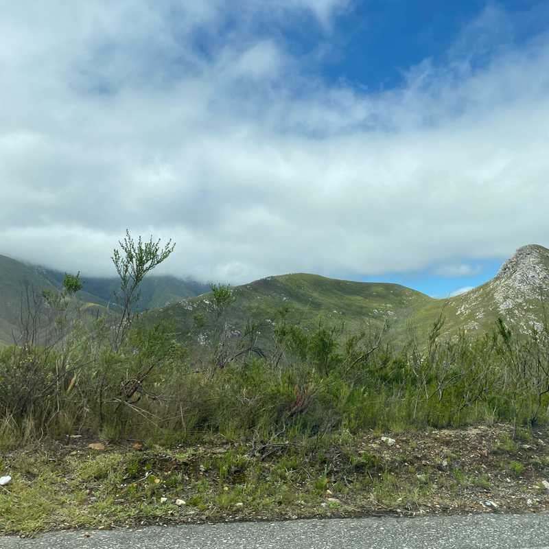 Outeniqua Pass Lookout Point