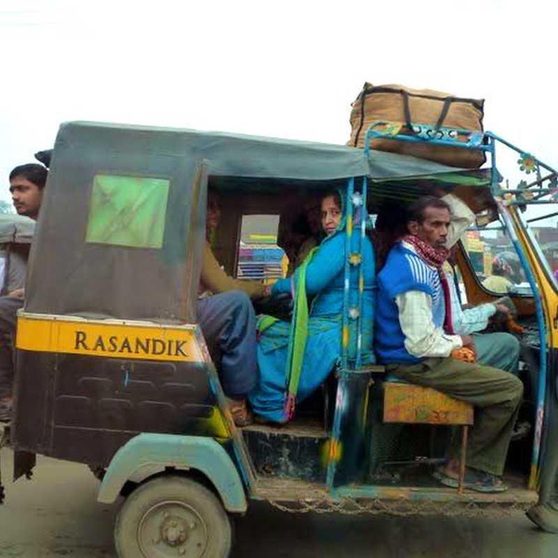 Driving to Jaipur