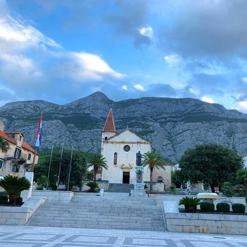Morning in Makarska