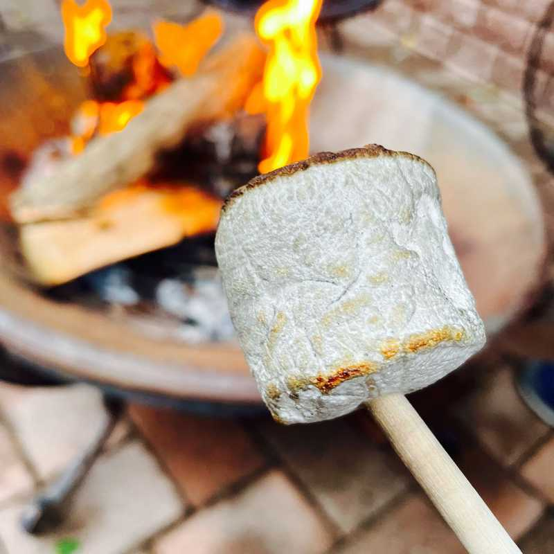 Evening S'mores @ Airbnb