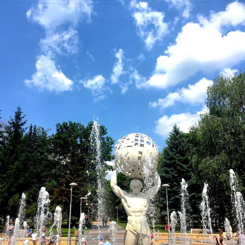 """Fountain """"Solar System"""""""