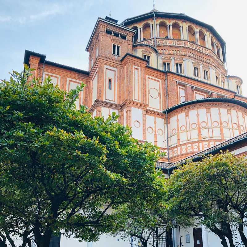 Place / Tourist Attraction: Santa Maria delle Grazie (Milan, Italy)