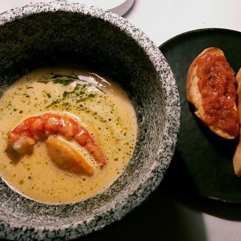 Dinner at Vila Joya