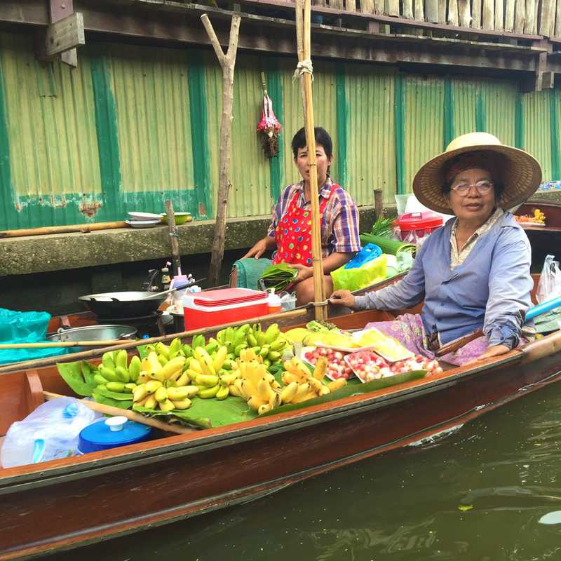 Floating Market Boarding Place