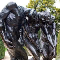 The Three Shades by Auguste Rodin. Before 1886