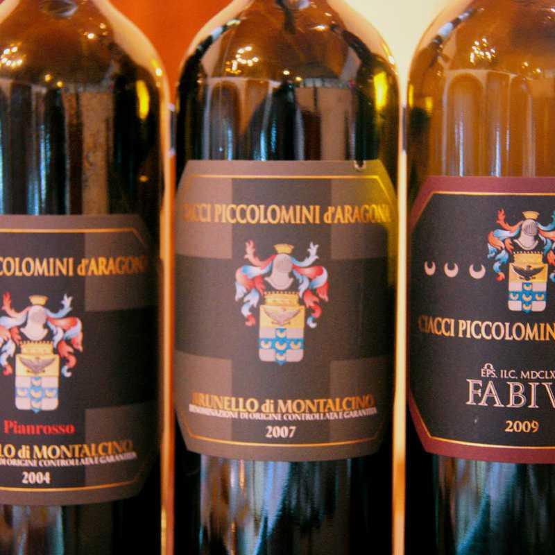 Tasting at Ciacci Piccolomini D'Aragona