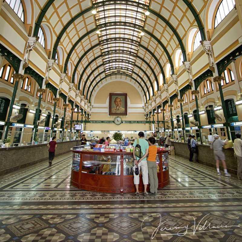 Place / Tourist Attraction: Saigon Central Post Office (District 1, Vietnam)