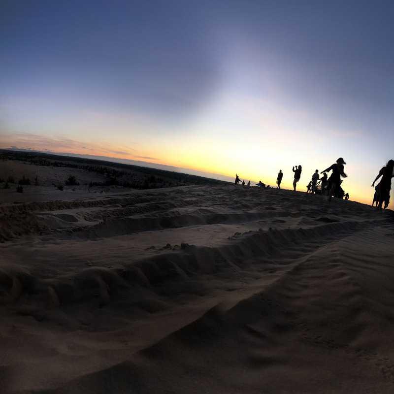 Lotus Lake - White Sand Dunes