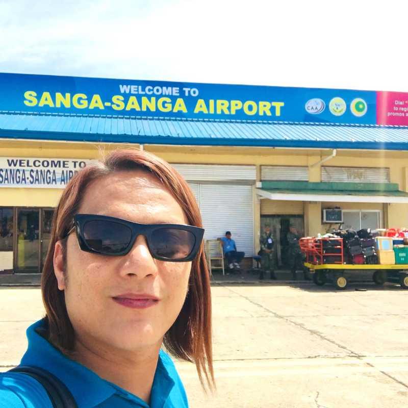 Sanga-Sanga Airport