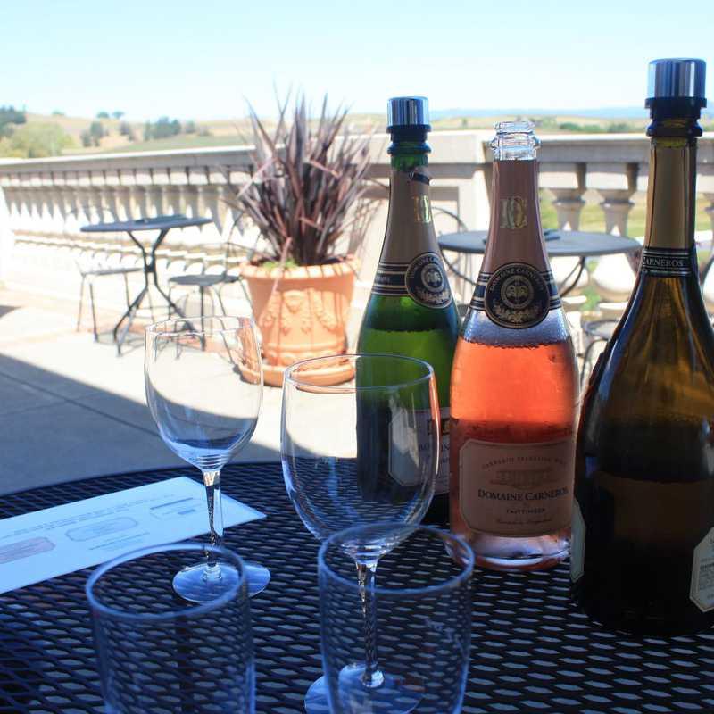 Wine Tasting at Domaine Carneros