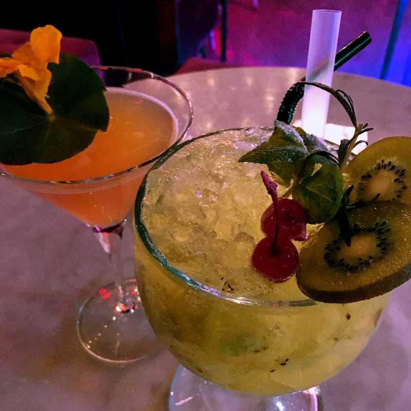 Grab drinks at Globe Lounge