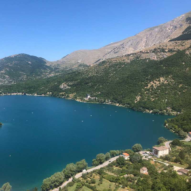 Cuore lago di Scanno