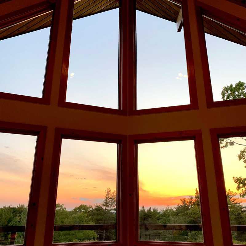 Watching Sunset
