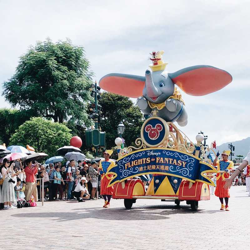 Half day Hongkong Disneyland