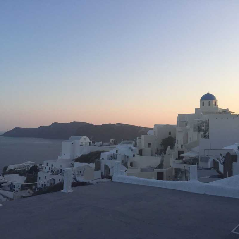 Trip Blog Post by @zhang: Oia Santorini Greece 2017 | 1 day in Jun (itinerary, map & gallery)