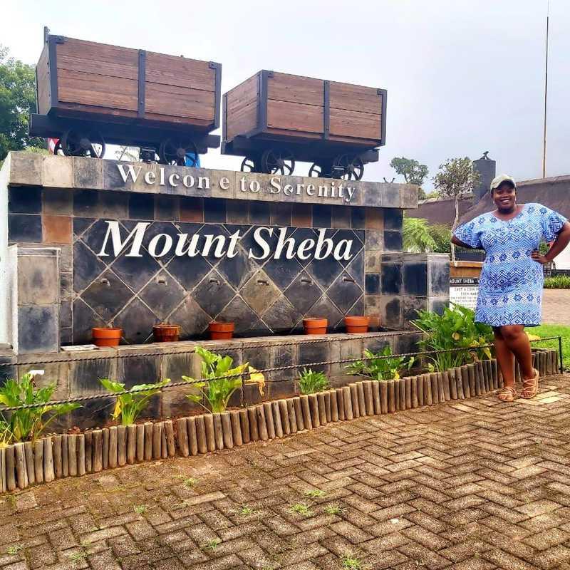 Drive down to Mount Sheba