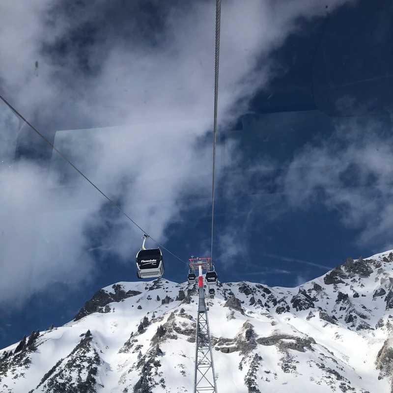 Valfagehr Sesselbahn, Talstation