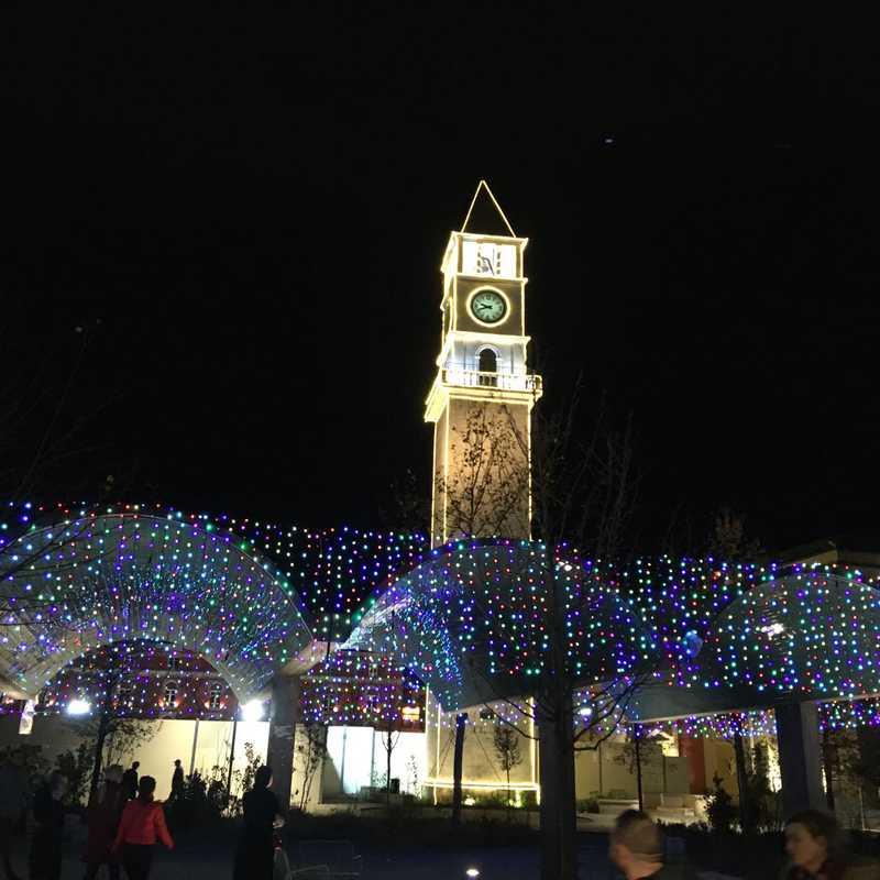 The Clock Tower of Tirana