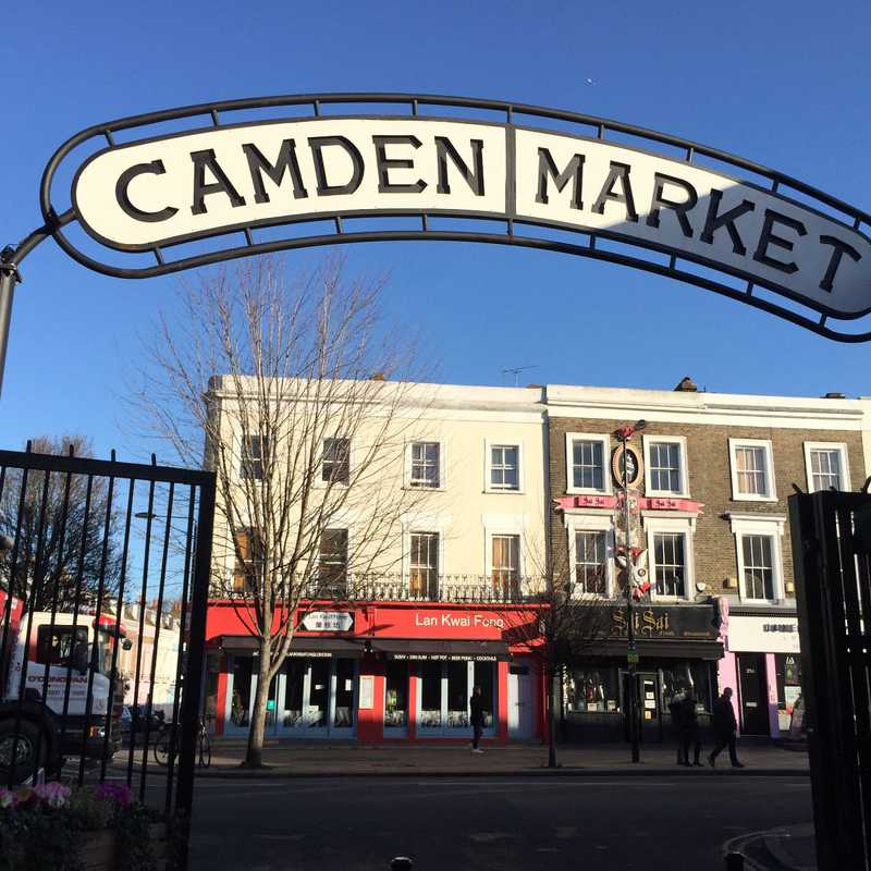 Place / Tourist Attraction: Camden Market (London, United Kingdom)
