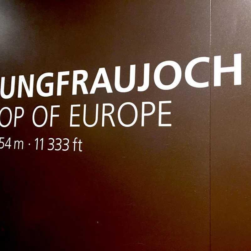Jungfraujoch Plateau