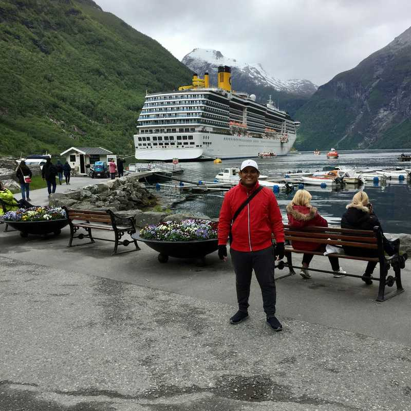 Geiranger Cruise Terminal