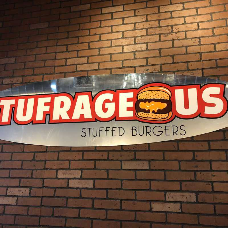 Stufrageous Stuffed Burgers