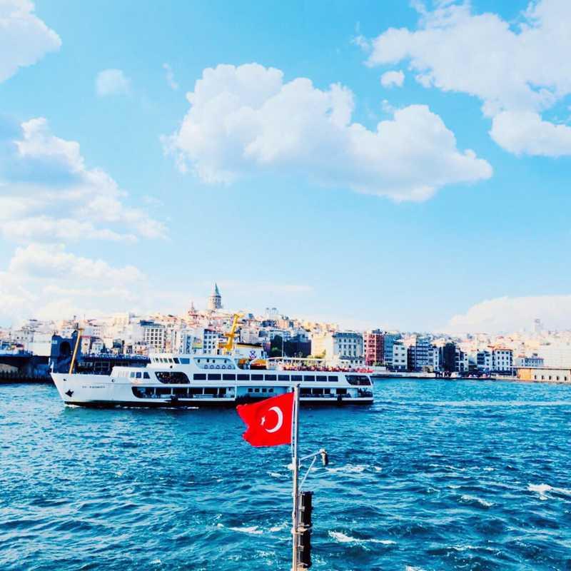 Place / Tourist Attraction: Bosporus Strait (Turkey)