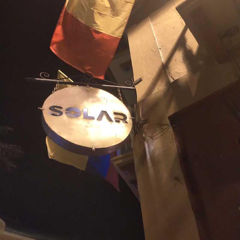 Drinks at Solar Bar