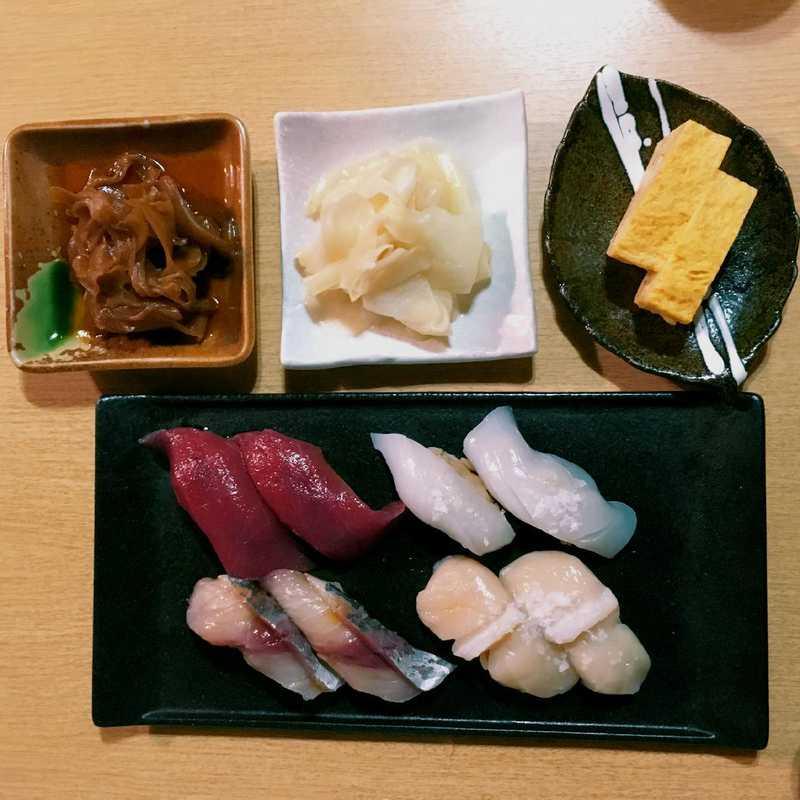 Dinner at Shutoku 2-Goten