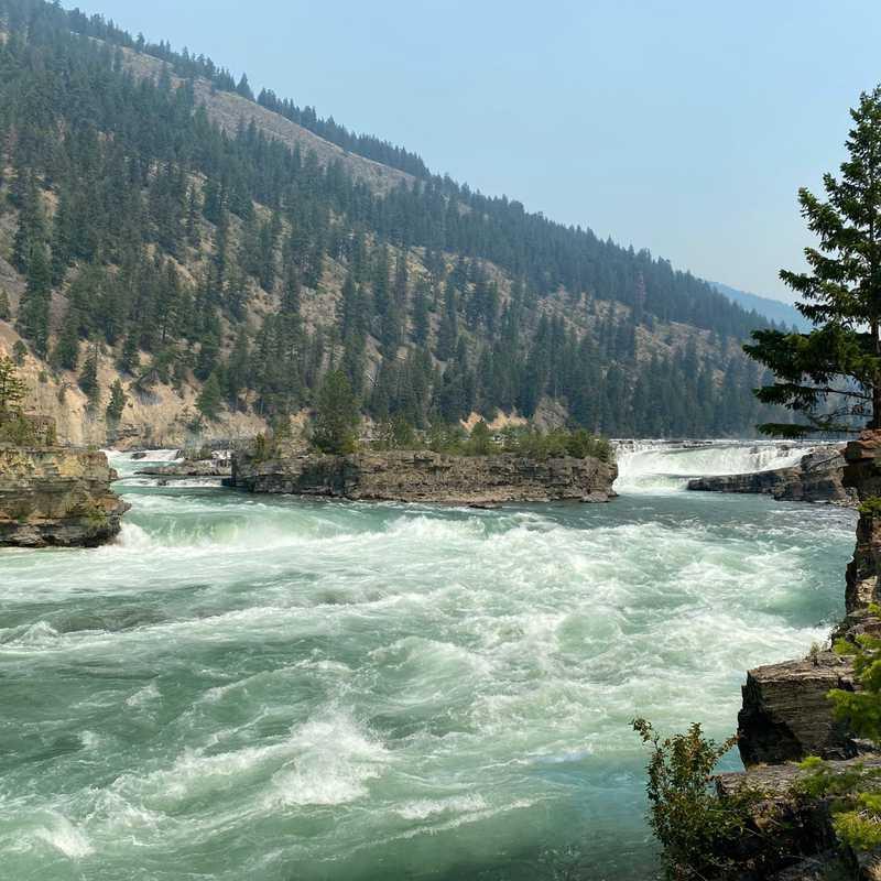 Kootenai falls hike