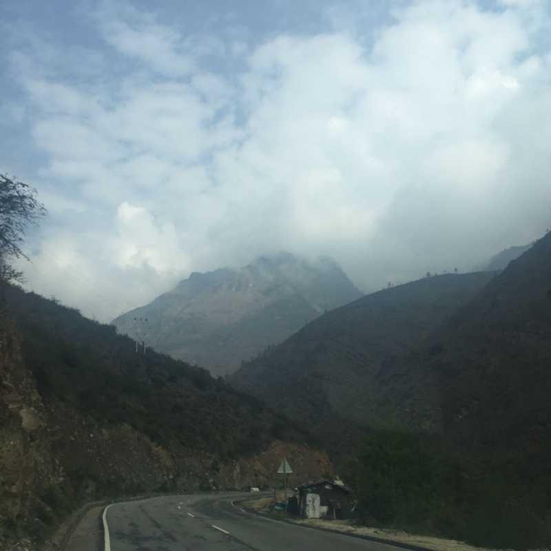 Paro - Thimphu Highway