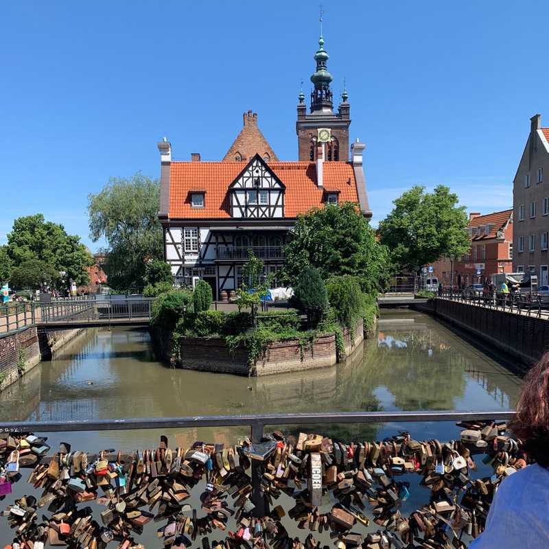 "Most Chlebowy - ""Most Miłości""/ Gdańsk"
