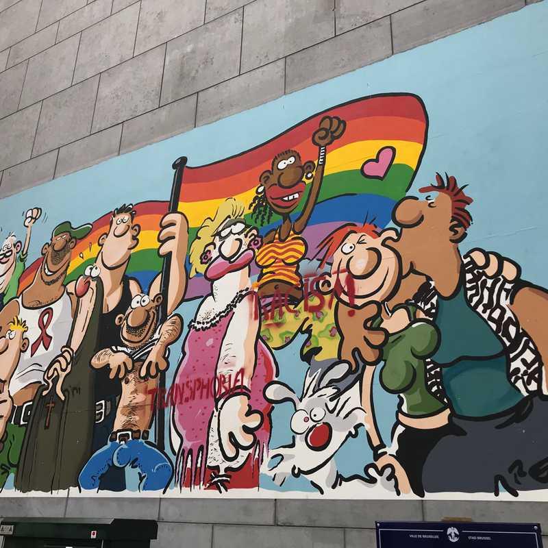 Broussaille - Mur BD - Street Art
