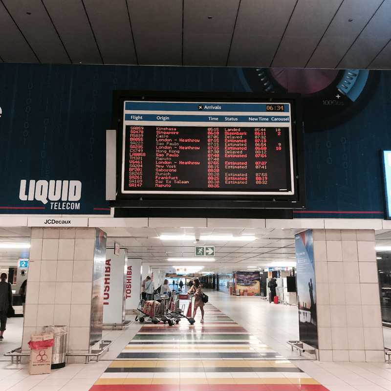 O.R. Tambo International Airport (JNB)