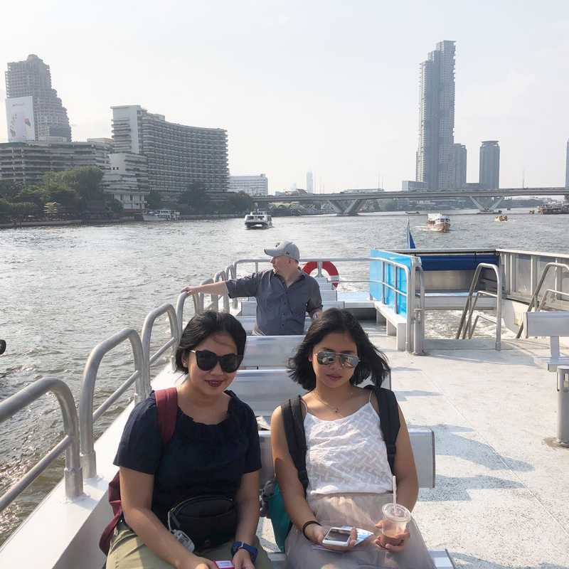 Place / Tourist Attraction: Chao Phraya River (Khlong San, Thailand)