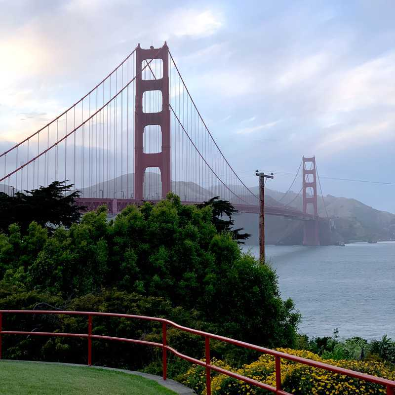 Golden Gate Bridge Vista Point