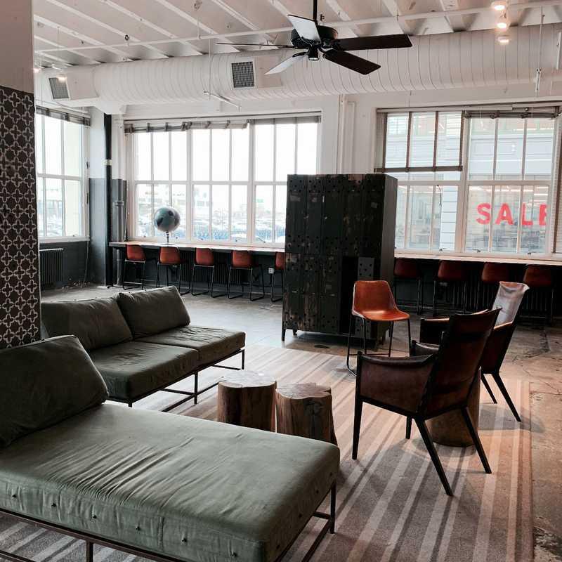 Open Lounge Area