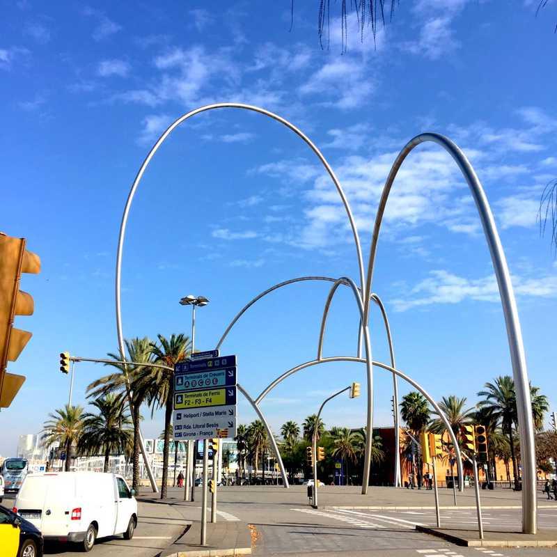 Plaza de les Drassanes