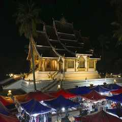 Temple of the Royal Palace and the Night Market