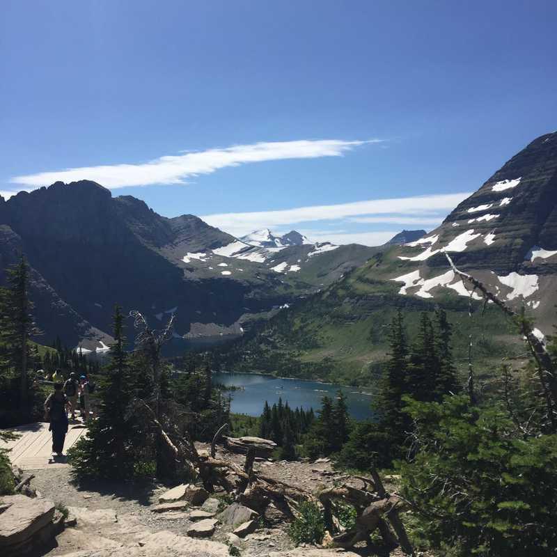 Jackson Glacier Overlook