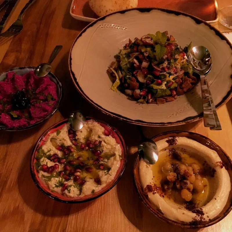 Dinner at Damas Restaurant
