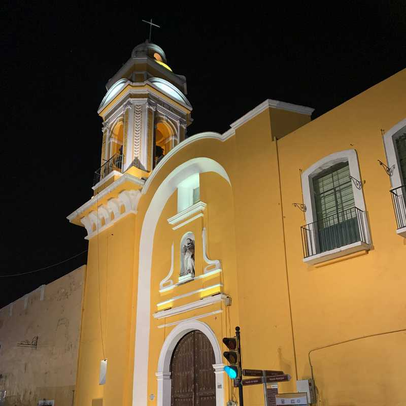 Puebla at Night