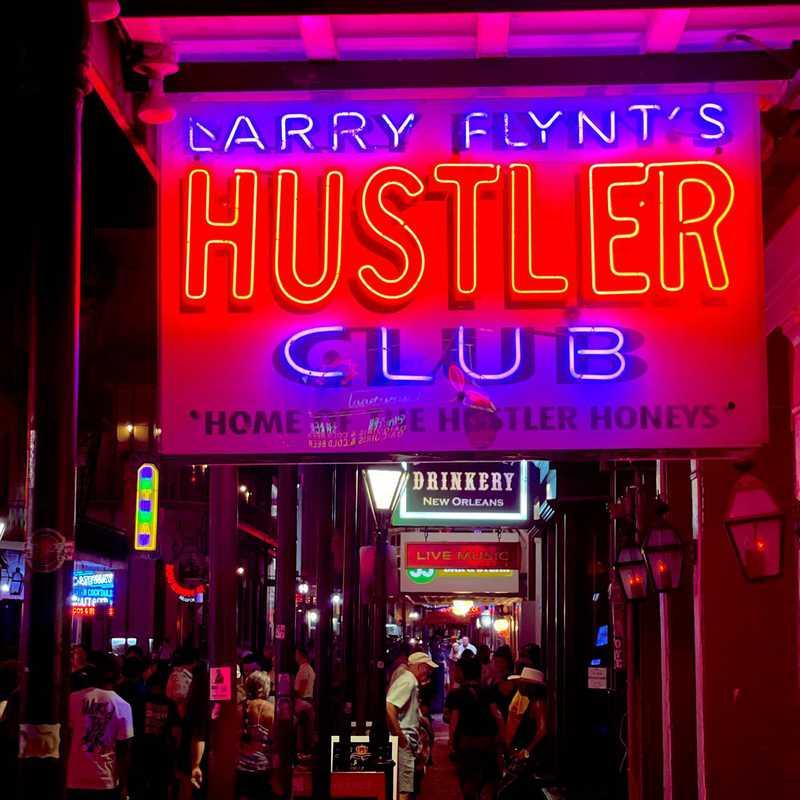 Larry Flynt's Hustler Club New Orleans Strip Club