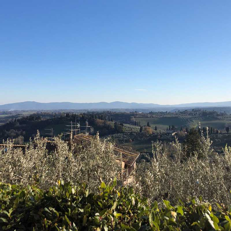 Trip Blog Post by @izzieweatherington: Rome, Florence, & Tuscany | 5 days in Dec (itinerary, map & gallery)
