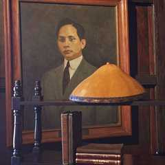 Portrait of Mariano Rubio Marcos, father of former Philippine president, Ferdinand Marcos