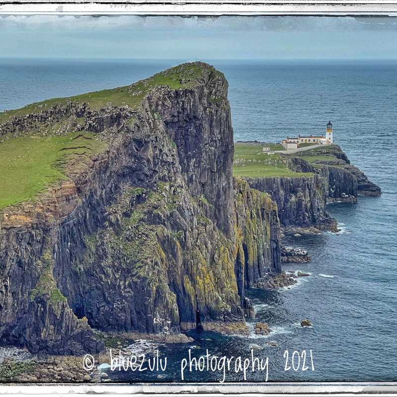 Neist Point Cliff Lighthouse Viewpoint