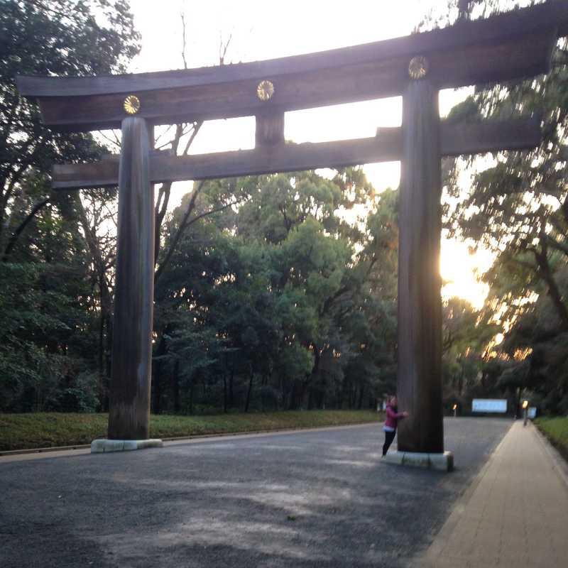 Meiji Shrine Sanshuden